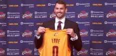Cleveland - Love est venu pour LeBron James