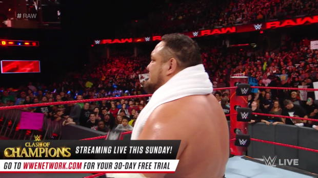The Shield brawl with Samoa Joe, Sheamus and Cesaro: Raw, Dec. 11, 2017