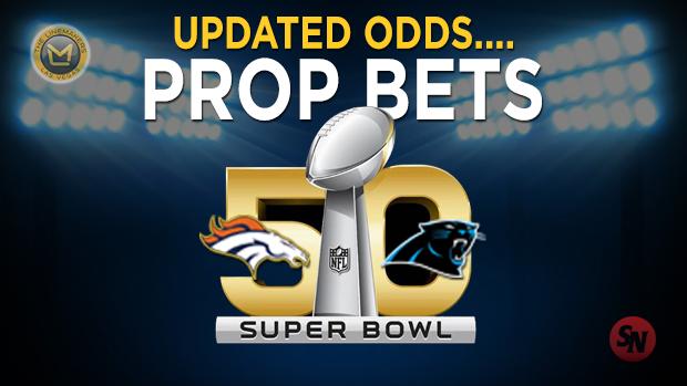 Updated Super Bowl Props