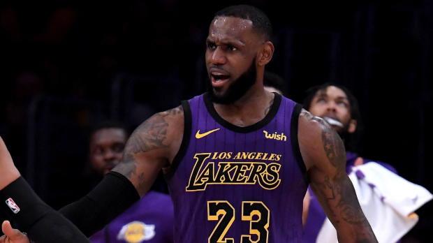 Basket : LeBron rejoint les plus grands sur la liste des cinq meilleurs scoreurs de NBA