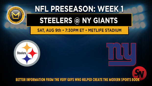 Steelers @ Giants