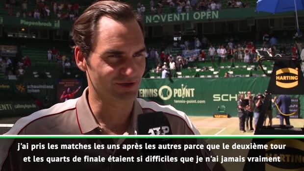 """Basket : TENNIS - ATP - Halle - Federer - """"Un moment très spécial dans ma carrière"""""""