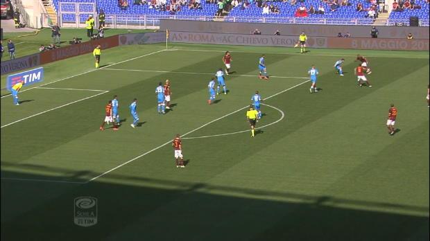 Serie A Round 35: Roma 1-0 Napoli