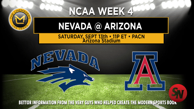 Nevada Wolf Pack @ Arizona Wildcats
