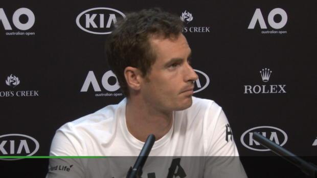 """AO: Murray: Sir? """"Nur Andy ist OK"""""""