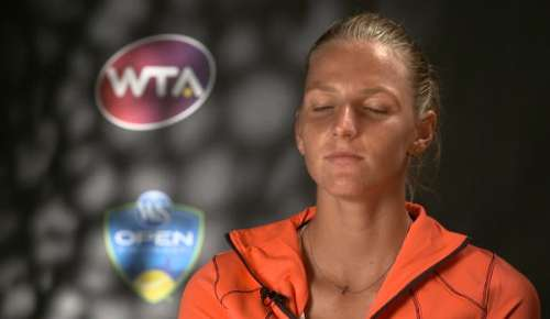 Pliskova Interview: WTA Cincinnati SF