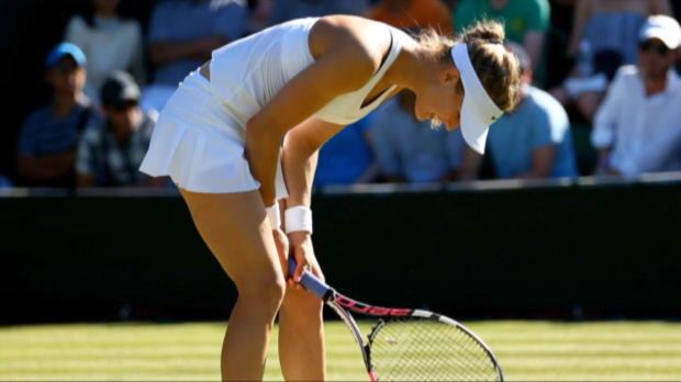 Wimbledon: Sensation! Bouchard und Halep raus