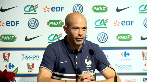 Bleus - Jallet : 'Ne pas se mettre la pression face � Cristiano Ronaldo'