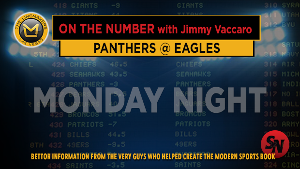 Jimmy V on Panthers @ Eagles