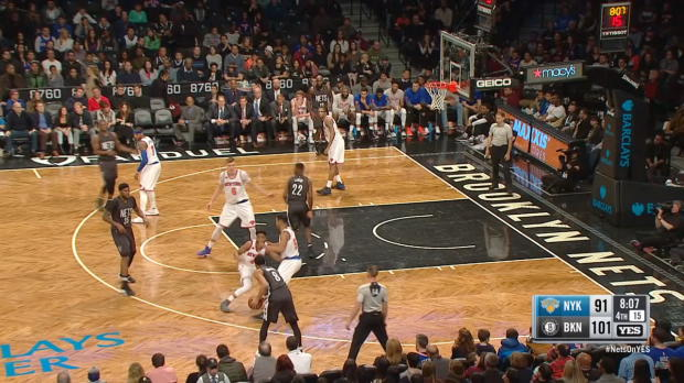 Block of the Night - Kristaps Porzingis