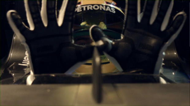 Lewis Hamilton goes on a virtual lap of Albert Park