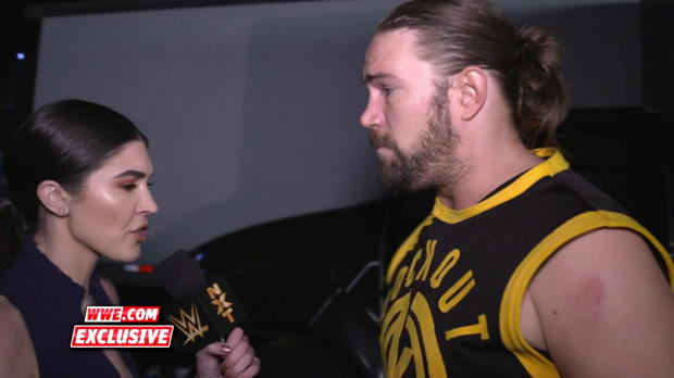 Kassius Ohno is speechless after his loss to Adam Cole: WWE.com Exclusive, March 21, 2018