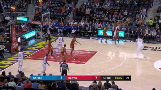 GAME RECAP: Hawks 116, Knicks 104