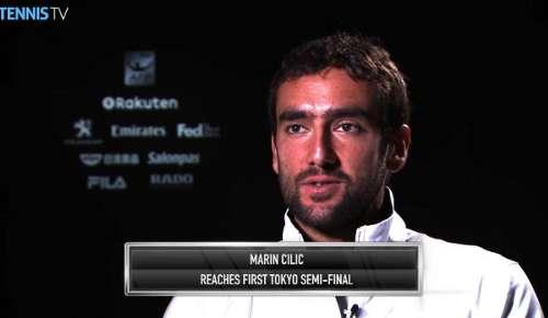 Cilic Interview: ATP Tokyo QF