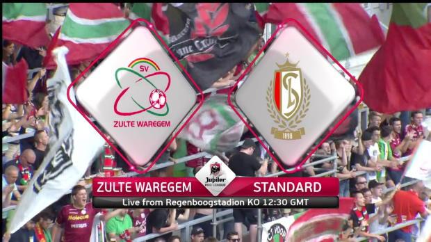 Zulte-Waregem v Standard Liège