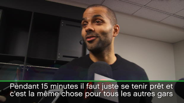 "Basket : NBA - Spurs - Parker - ""Mon instinct m'a dit de prendre les choses en main"""