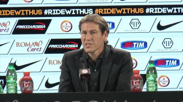 Rudi Garcia a profité de sa conférence de presse d'avant-match face à Bergame pour rappeler les objectifs du club cette saison.