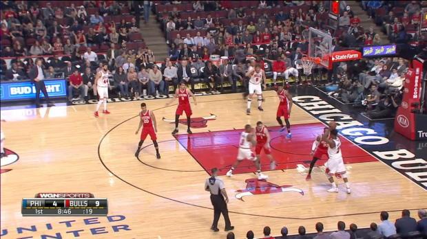 GAME RECAP: 76ers 117, Bulls 107