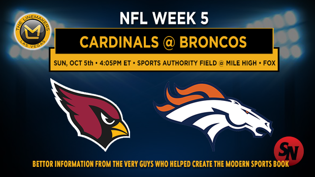 Arizona Cardinals @ Denver Broncos
