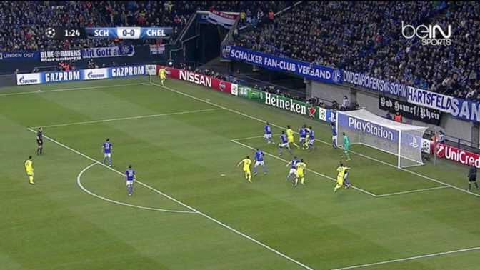 LdC : Schalke 04 0-5 Chelsea