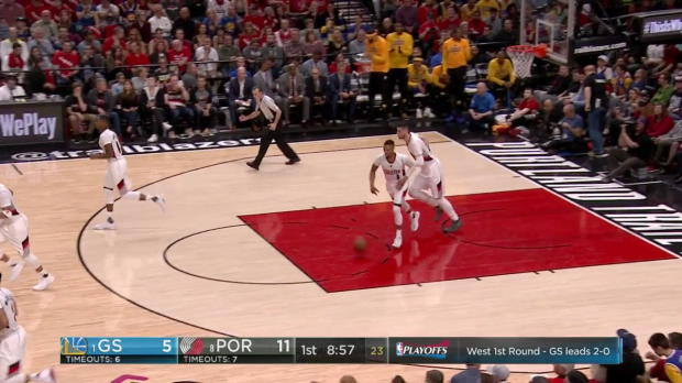 WSC: Highlights: Stephen Curry (34 points) vs. the Trail Blazers, 4/22/2017