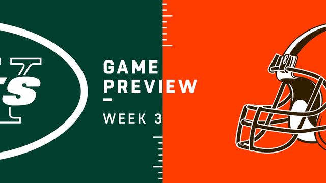 Jets vs. Browns Week 3 preview | NFL Playbook