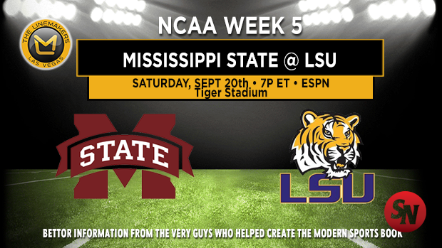 Mississippi State Bulldogs @ LSU Tigers