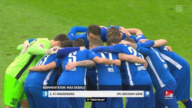 2. Bundesliga: 1. FC Magdeburg - VfL Bochum 1848 | DAZN Highlights