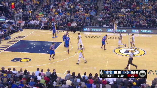WSC: Highlights: Paul George (31 points) vs. the Knicks, 1/23/2017