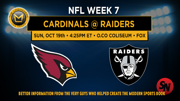 Arizona Cardinals @ Oakland Raiders