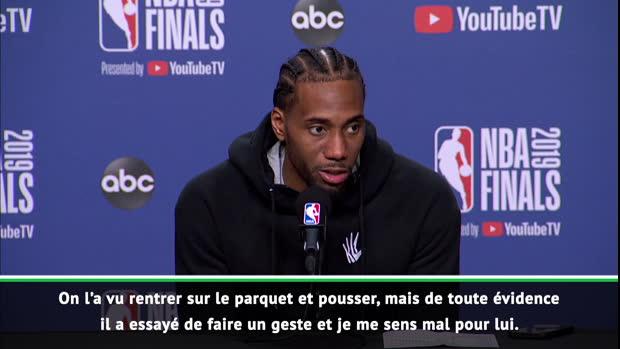 "Basket : Finals - Leonard - ""Durant reviendra fort"""
