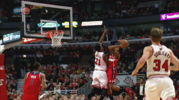 Washington Wizards 101-99 Chicago Bulls