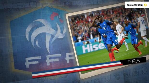 Fünf Fakten nach Frankreich gegen Island