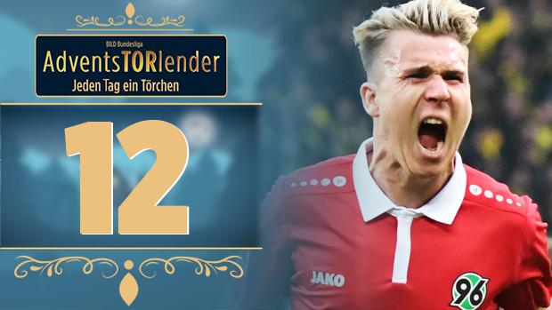 Adventstorlender -Klaus' Traum-Freistoß gegen Dortmund