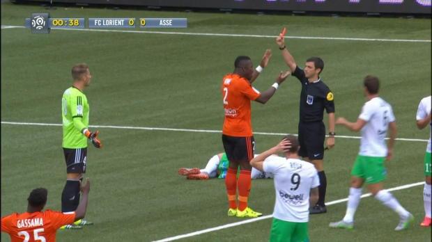 Ligue 1 Round 3: Lorient 0-1 St Etienne