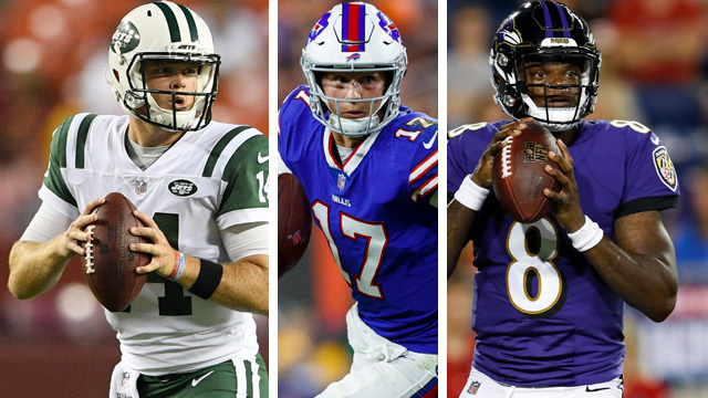 Good Morning Football's rookie QB power rankings for the 2018 NFL preseason