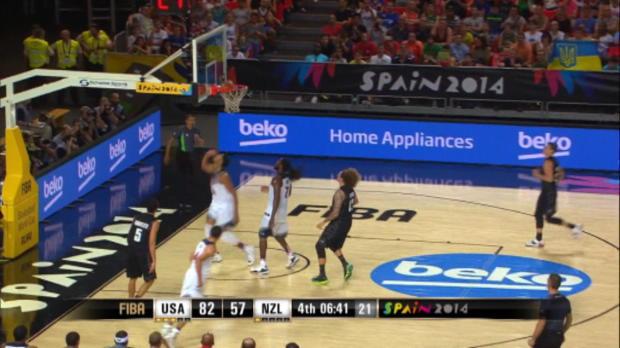 Basket : FIBA - Mondial - Les USA poursuivent leur balade