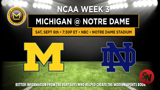 Michigan at Notre Dame