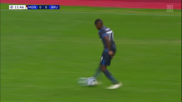 UEFA Champions League: Monaco - Brügge   DAZN Highlights