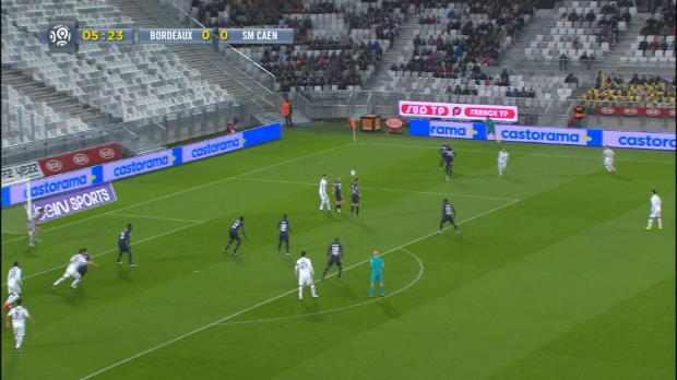 Ligue 1 Round 15 : Bordeaux 1 - 4 Caen