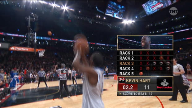 Buzzer Beater of the Night: Kevin Hart