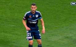 Melbourne Victory captain Carl Valeri is the 2016/17 Victory medallist.