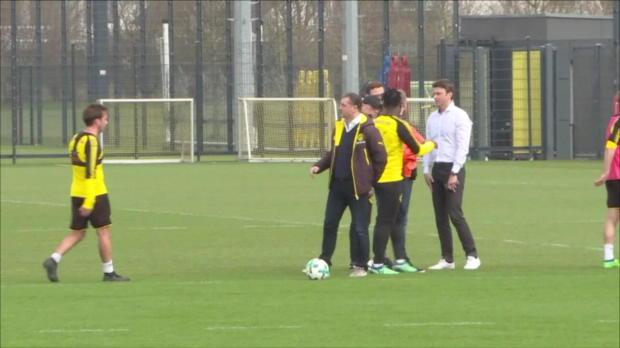 BVB-Boss Zorc verweigert Batshi den Handschlag |Bundesliga-News