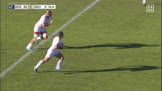 Rugby: 80 Meter Try von Georgien!