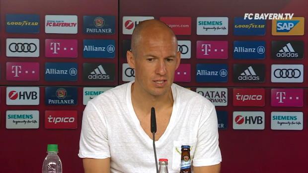 """Robben lobt Mandzukic: """"In wichtigen Spielen da"""""""