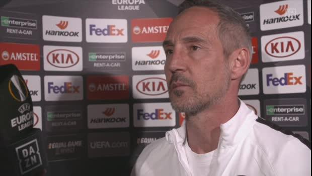 Adi Hütter im Interview vor dem Rückspiel gegen Chelsea