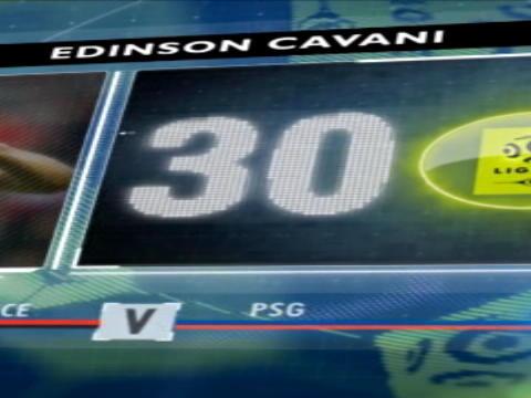 كرة قدم: الدوري الفرنسي: مباراة هامة: نيس × باريس سان جيرمان