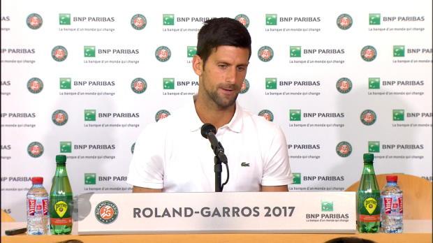 "French Open: Djokovic: ""Habe Agassi gebraucht"""