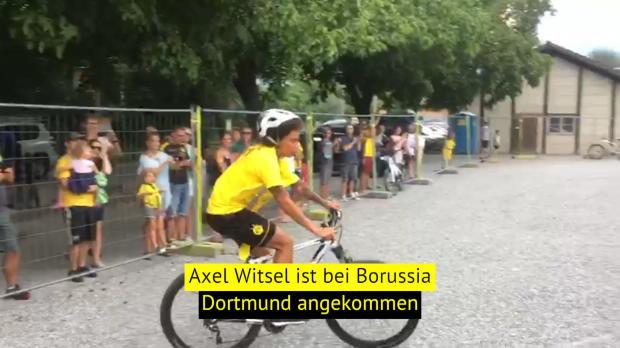 Witsel beim BVB: Erste Einheit unter Favre