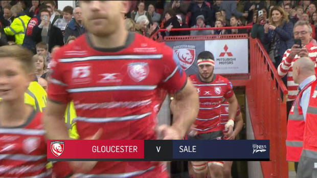 Aviva Premiership : Aviva Premiership - Match Highlights - Gloucester v Sale Sharks - Round 11